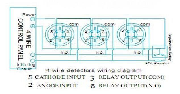 Cy 3463 4 Wire Smoke Detectors Wiring Diagram