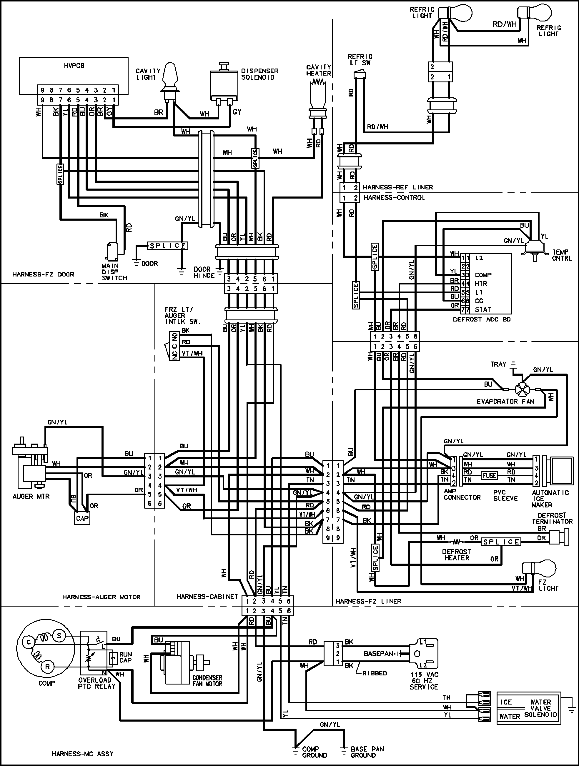 Te 7617 Ge Refrigerator Schematic Diagram Download Diagram