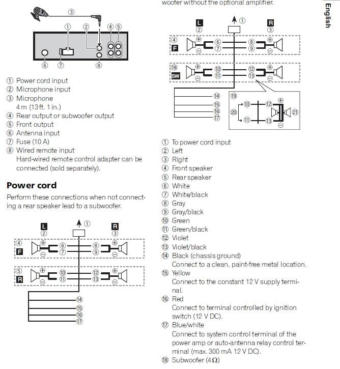 pioneer fh x70bt wiring diagram 70 chevelle ss wiring