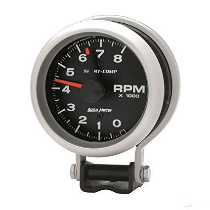 Superb Amazon Com Auto Meter 3780 Sport Comp Standard Tachometer Automotive Wiring Cloud Staixaidewilluminateatxorg