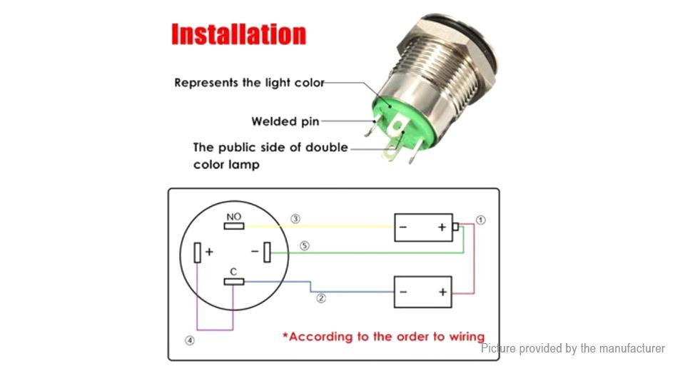 Illuminated Momentary Switch Wiring Diagram