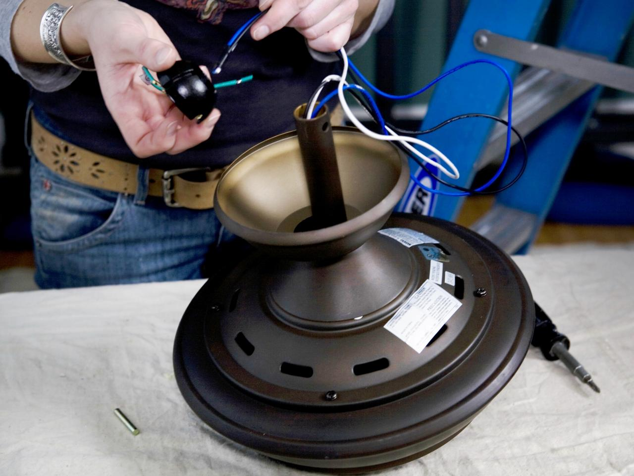 Pleasing How To Replace A Light Fixture With A Ceiling Fan How Tos Diy Wiring Cloud Rometaidewilluminateatxorg
