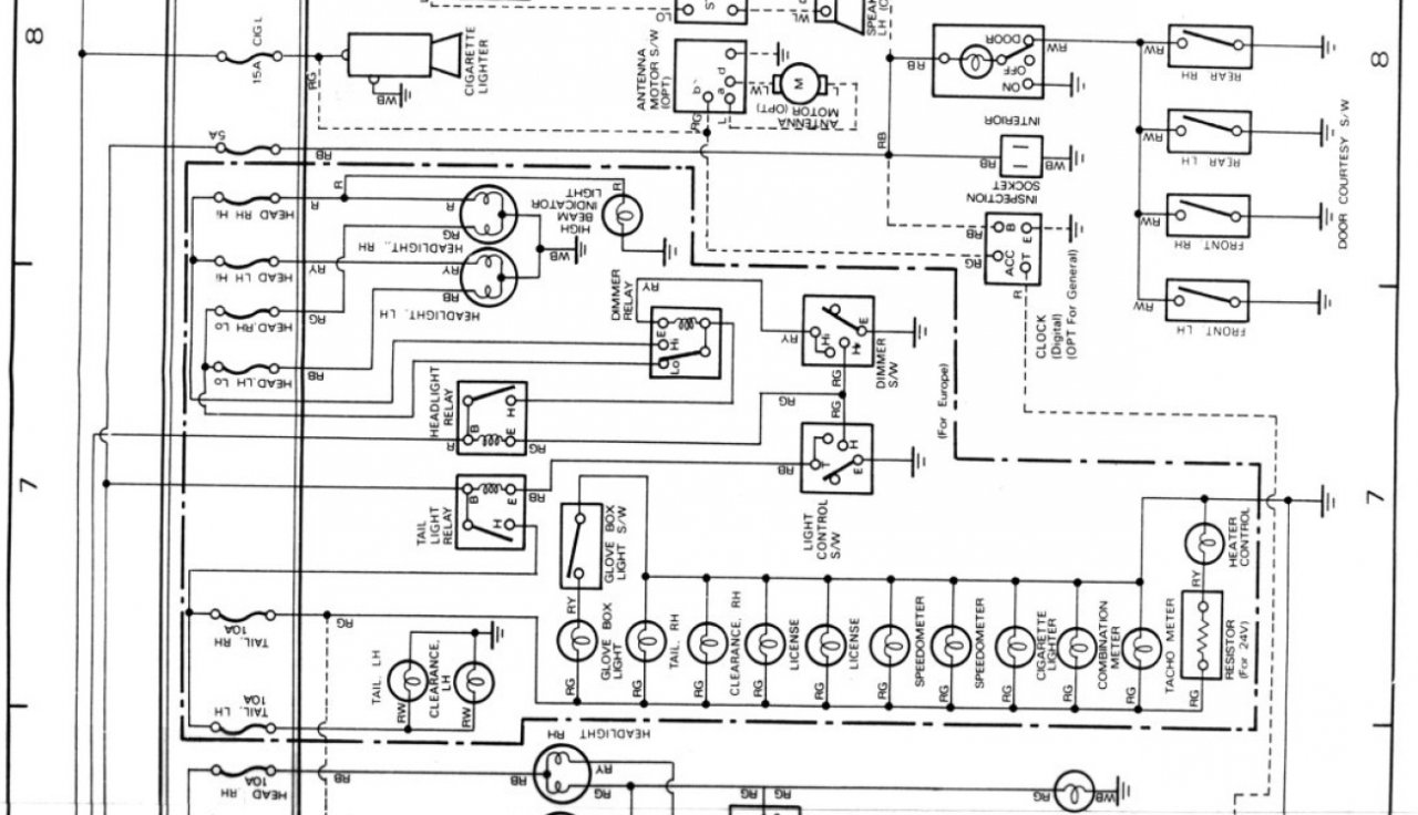 Land Cruiser Hj60 Wiring Diagram
