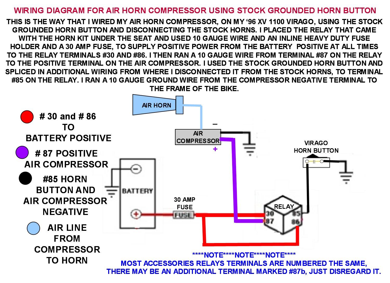 AV_1774] Train Horn Switch Wiring Diagram Likewise Train Horn Wire Diagram  On Free Diagram