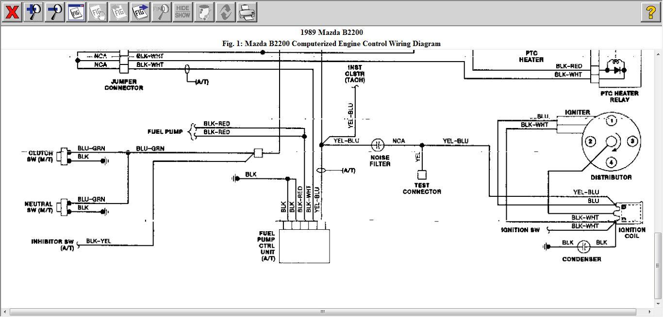 mazda b2000 wiring diagram   long wiring diagrams skip  ambiart.it