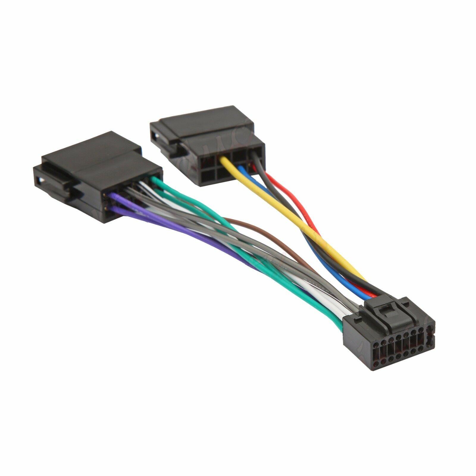 Superb Kenwood Jvc 16 Pin Iso Wiring Harness Connector Adaptor Car Stereo Wiring Cloud Lukepaidewilluminateatxorg