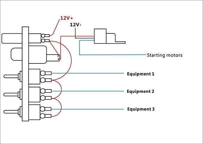 12v toggle switch wiring diagram starter  wiring diagram