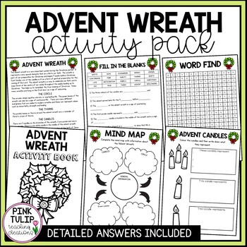 Remarkable Advent Poster Worksheets Teachers Pay Teachers Wiring Cloud Mousmenurrecoveryedborg