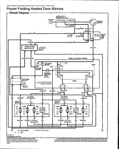 Civic Window Motor Diagram Bege Wiring Diagram