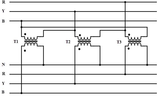 Wondrous 3 Phase Transformer Bank Wiring Diagram Wiring Diagram Data Wiring Cloud Eachirenstrafr09Org