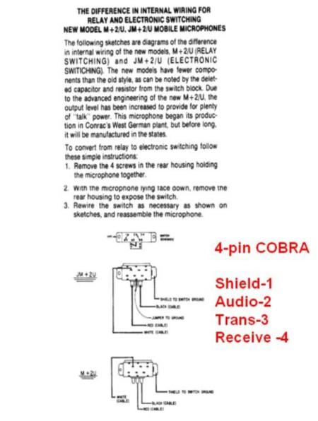 Remarkable Copper Talk Turner M 2 U Wiring For 4 Pin Cobra Uniden Wiring Cloud Gufailluminateatxorg