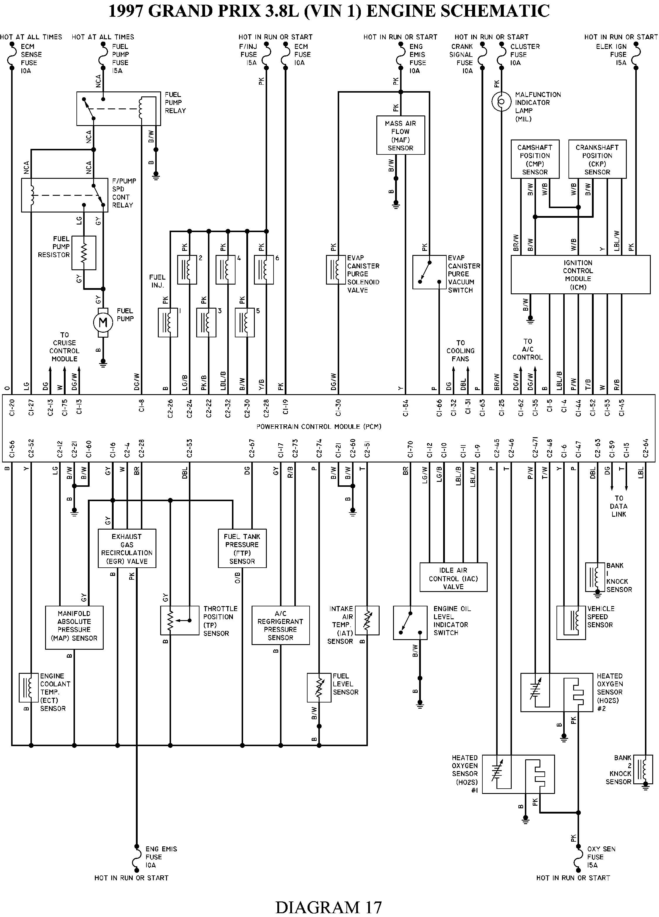 2004 Pontiac Grand Am Spark Plug Wiring Diagram
