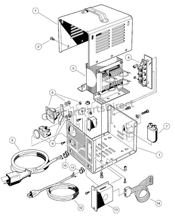 tm8573 ignition switch wiring diagram on 36 volt golf cart