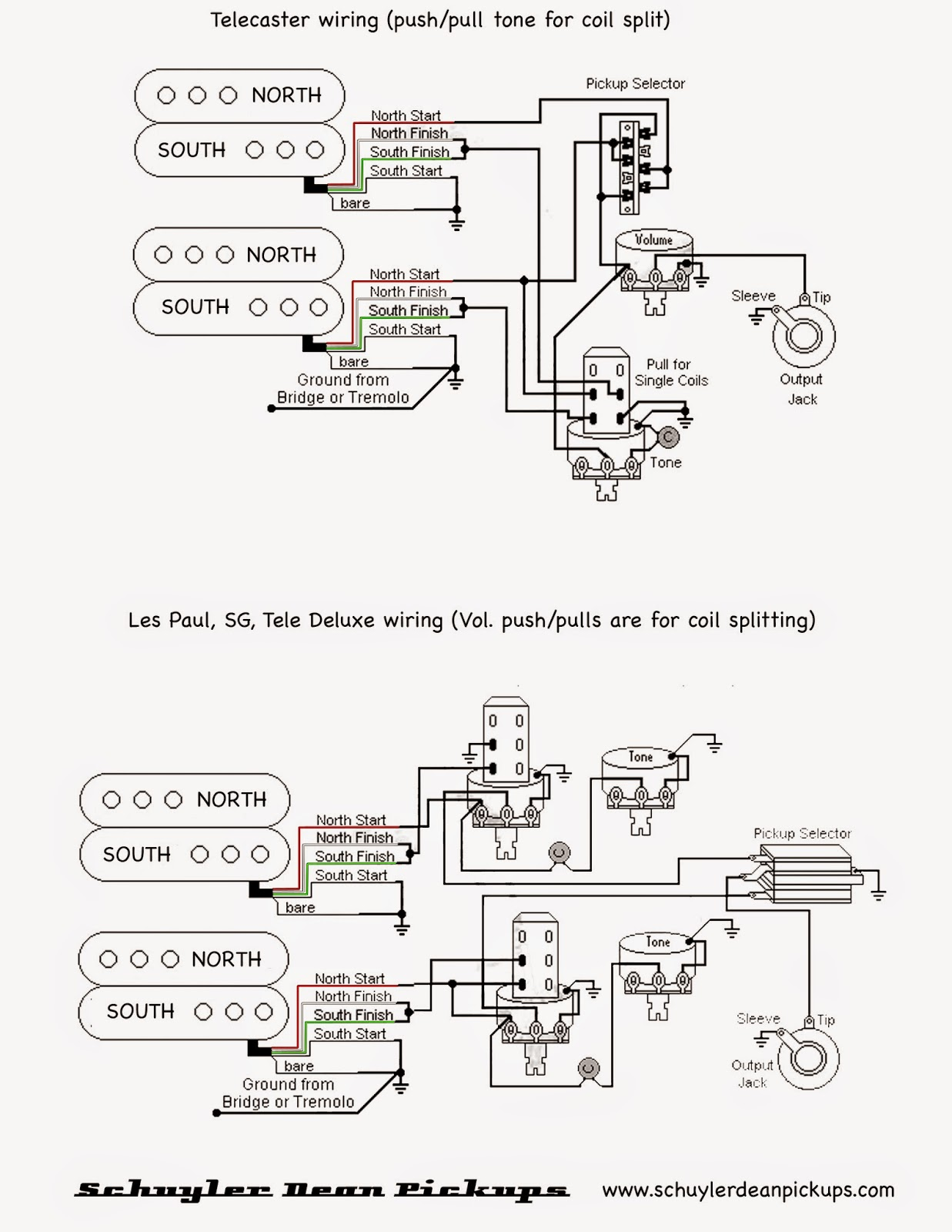 Les Paul Standard Wiring Diagram - Collection