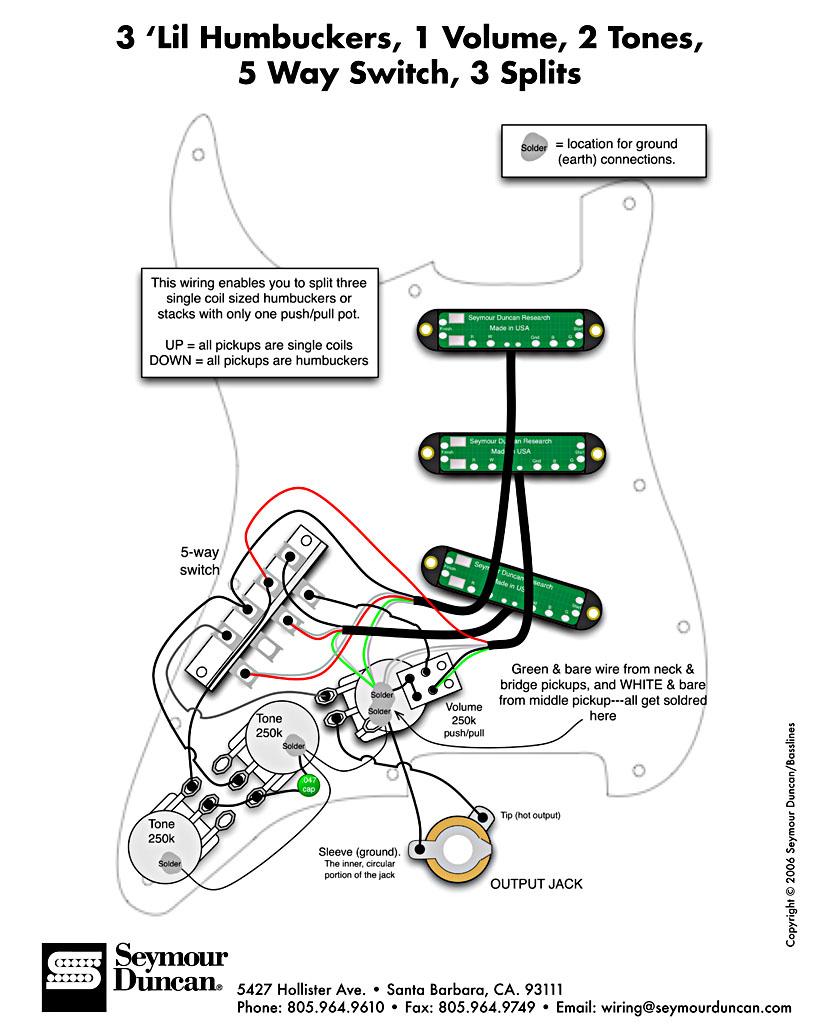 RN_1379] Triple Hot Rail Pickup Wiring Diagrams Schematic Wiring