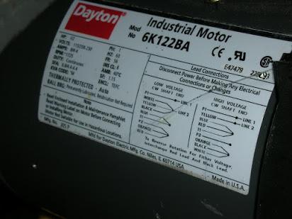 dayton electric motors wiring diagram - Wiring Diagram