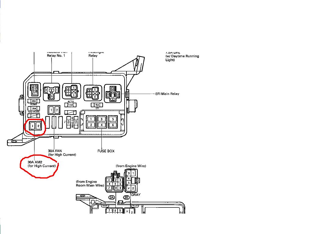 Ek 4646 2005 Toyota Tacoma Engine Fuse Box Diagram Download Diagram