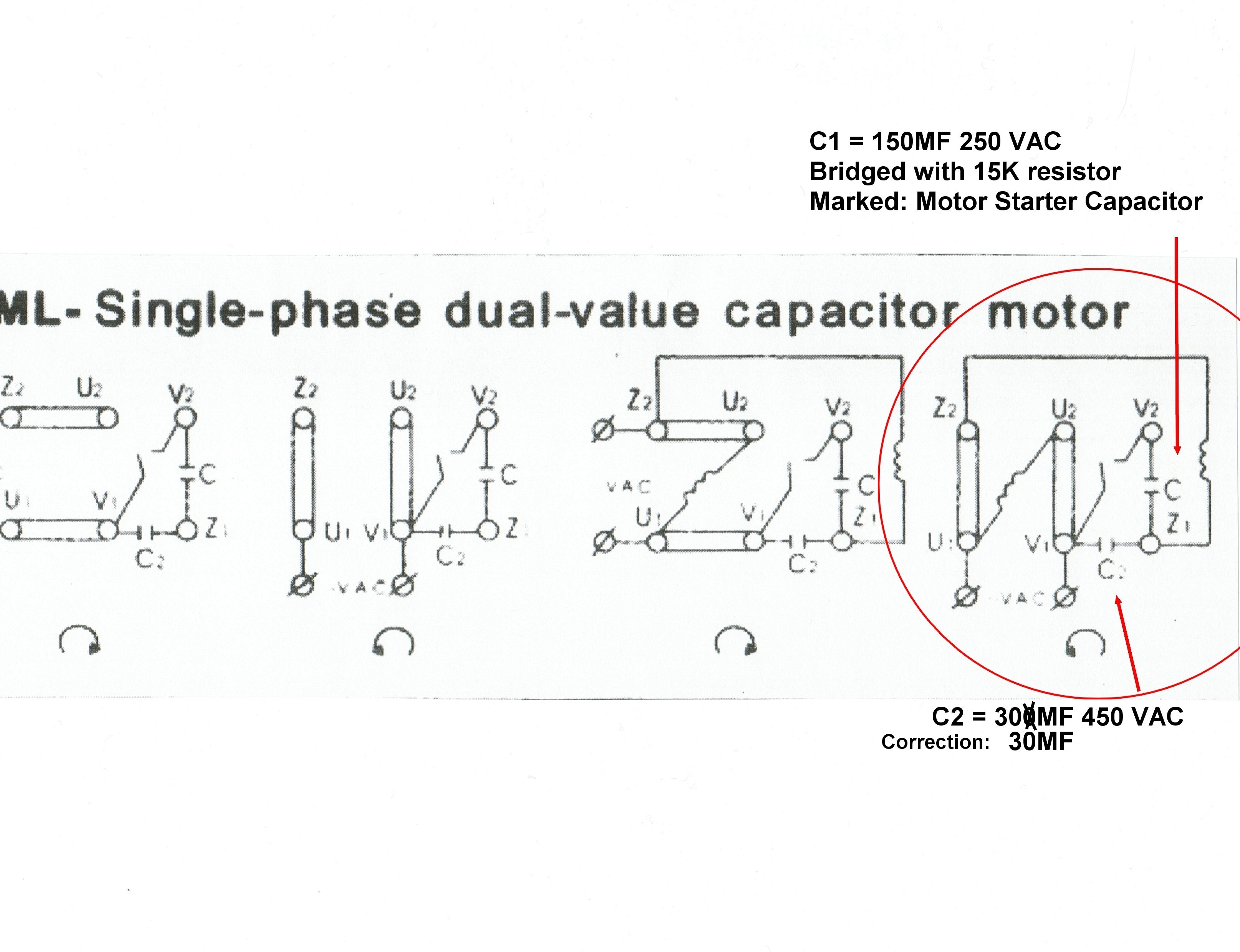 Fy 4320 220 Volt Single Phase Motor Wiring Diagram Wiring Harness Wiring