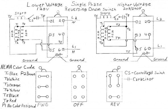 YT_3208] Dual Voltage Single Phase Motor Wiring Diagram Wiring DiagramGresi Chro Carn Ospor Garna Grebs Unho Rele Mohammedshrine Librar Wiring 101