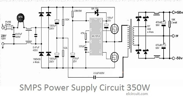 Incredible 350W Smps Power Supply Circuit In 2019 Electronics Power Supply Wiring Cloud Grayisramohammedshrineorg