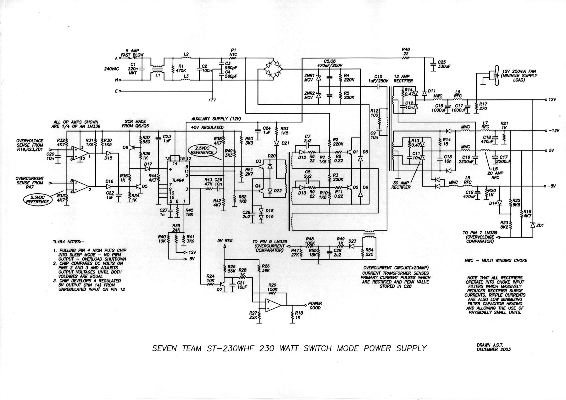 Groovy 5 Pc Power Supply Circuit For You Eleccircuit Com Wiring Cloud Intelaidewilluminateatxorg