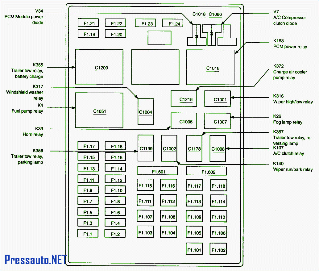 02 f250 fuse box diagram wv 4863  fuse box diagram for 2002 ford f 350  fuse box diagram for 2002 ford f 350