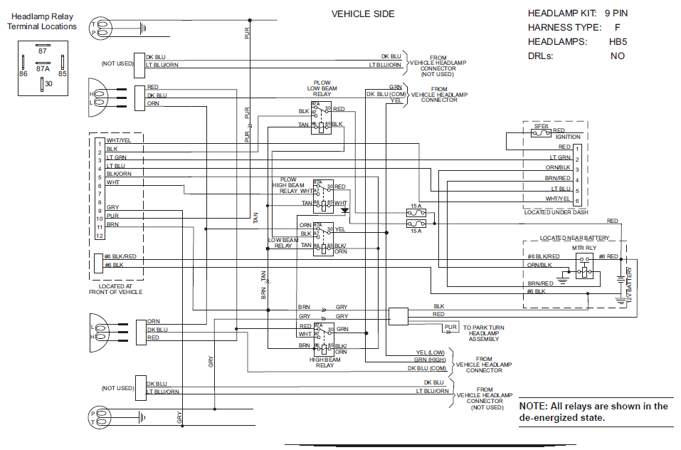 Ht 4075 Western Snow Plow Wiring Harness Diagram In Addition Western Snow Plow Schematic Wiring