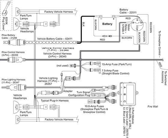 western mvp unimount wiring diagram 93 honda accord wiring