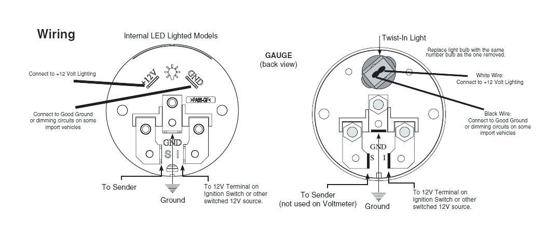 Vdo Wiring Diagram For Tachometer