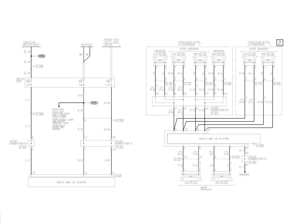 AXB 40] Radio Wiring Diagram Mitsubishi Lancer   solid demand ...