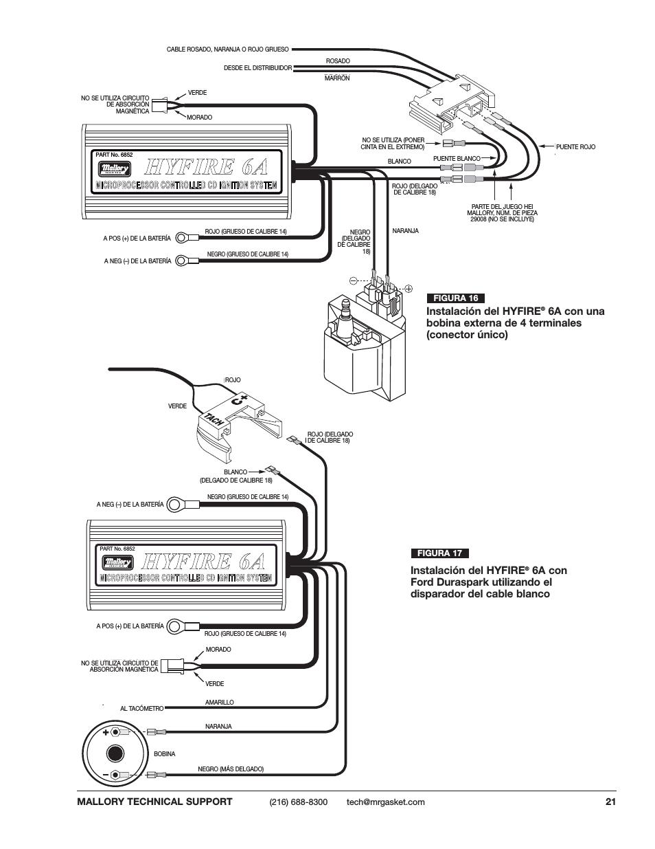 Mallory Hyfire 6a Wiring Diagram