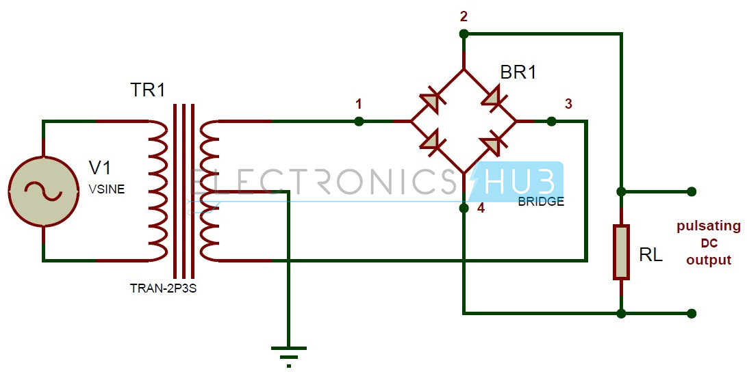 Terrific Rectifier Circuit Diagram Electronic Circuits Kits And Projects Wiring Cloud Ymoonsalvmohammedshrineorg