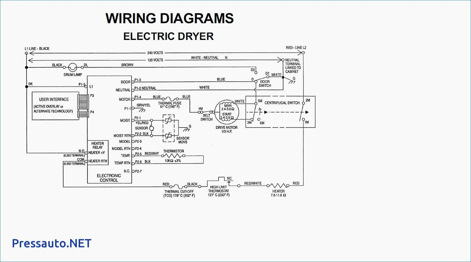 Gas Dryer Wiring Diagram