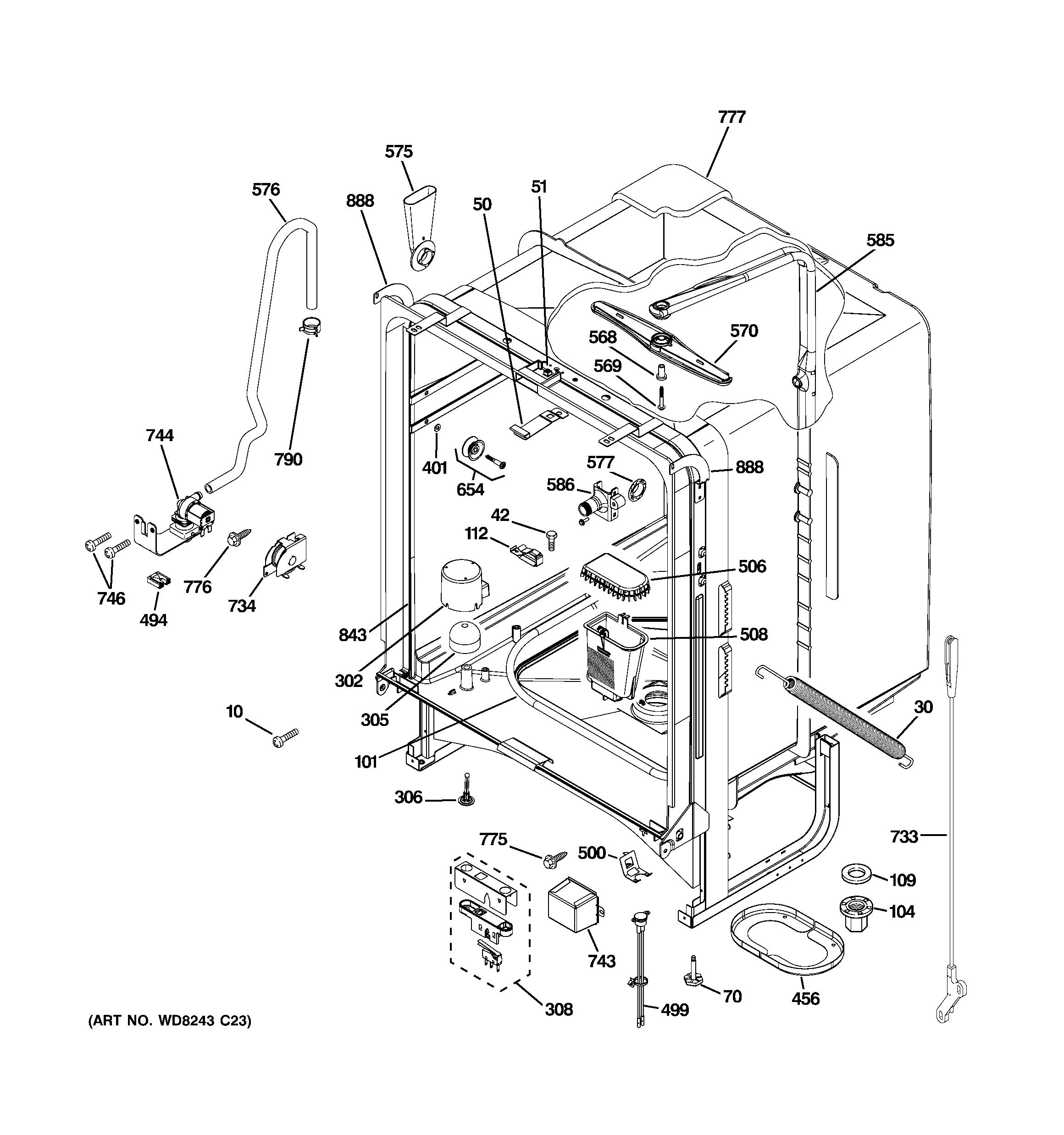 [SCHEMATICS_4FR]  ZA_2836] Ge Nautilus Dishwasher Parts Diagram Schematic Wiring   Wiring Diagram For Ge Profile Dishwasher      Kweca Hendil Mohammedshrine Librar Wiring 101