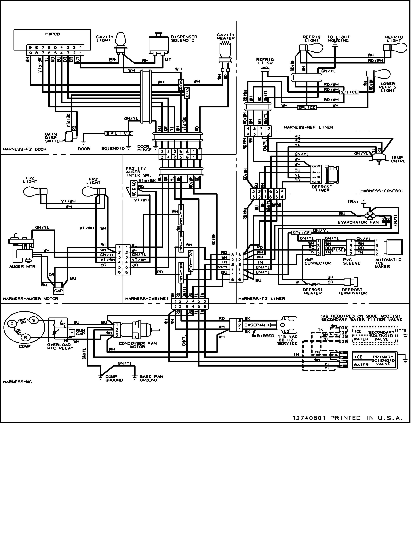 AF_4558] Refrigerator Wiring Diagram Further Amana Refrigerator Wiring  Diagram Free DiagramWned Brece Gue45 Ivoro Vira Mohammedshrine Librar Wiring 101