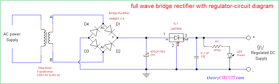 Amazing Full Wave Bridge Rectifier Circuit Diagram Wiring Cloud Apomsimijknierdonabenoleattemohammedshrineorg