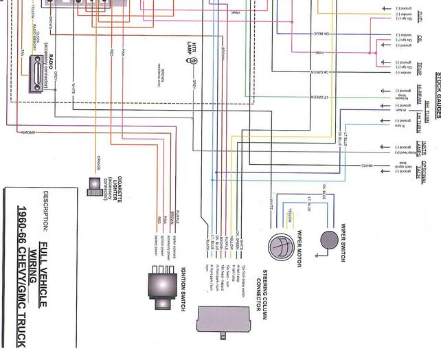 Wiring Diagram Chevy 66 K20
