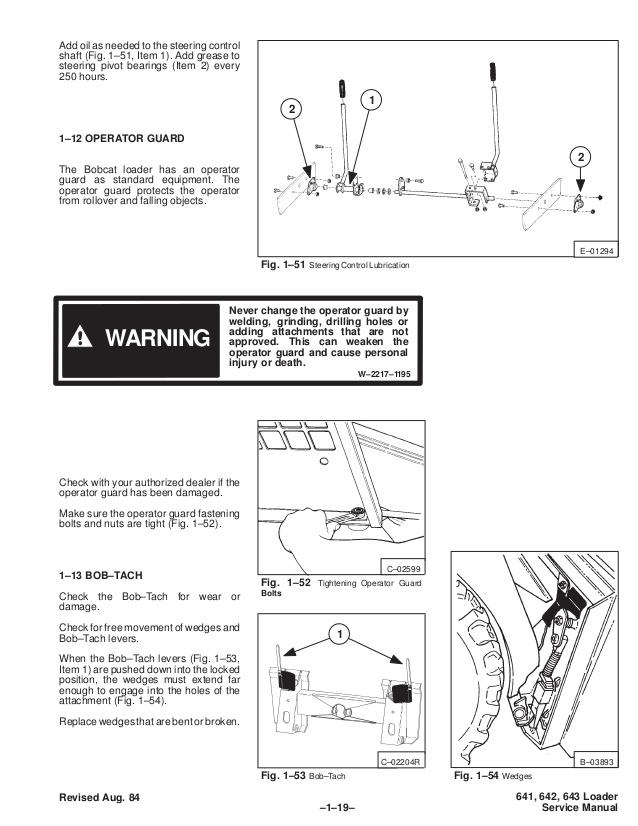Remarkable Bobcat 642 Skid Steer Loader Service Repair Manual Wiring Cloud Licukosporaidewilluminateatxorg