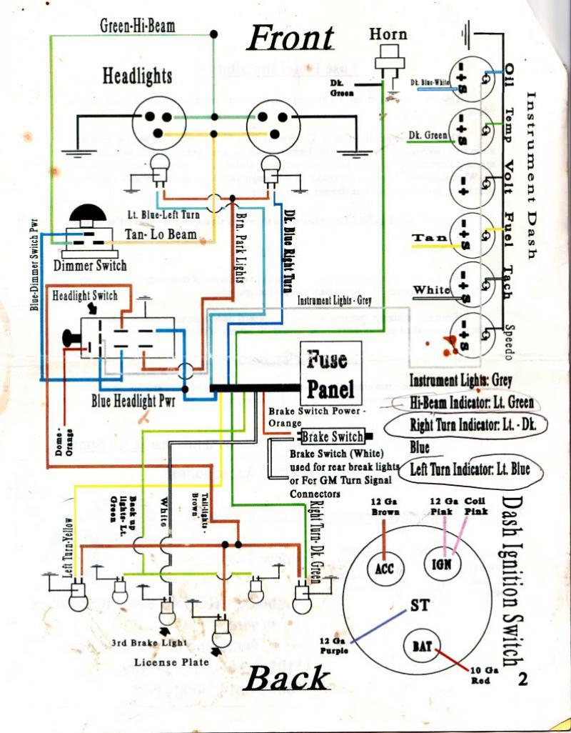 Awe Inspiring 1966 Gto Fuse Box Diagram Basic Electronics Wiring Diagram Wiring Cloud Licukaidewilluminateatxorg