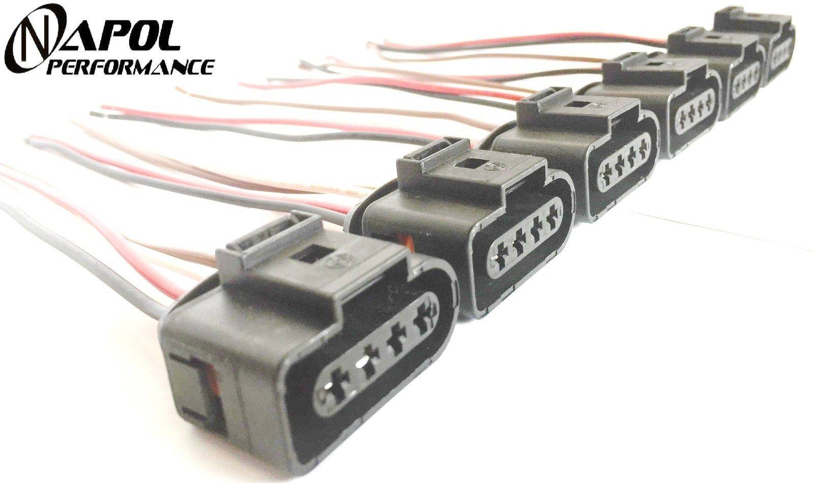Superb Audi Vw Ignition Coil Connector Repair Kit Harness Plug Wiring A4 Wiring Cloud Eachirenstrafr09Org