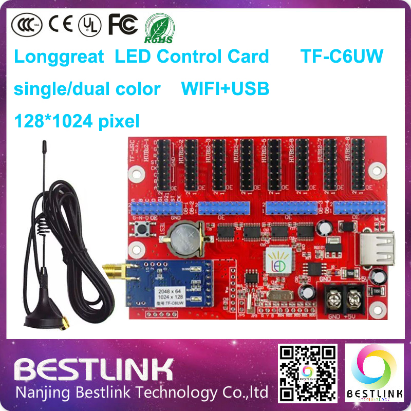 Swell 128 1024 Pixel Longgreat Tf C6Uw Wifi Led Control Card Wireless Led Wiring Cloud Rometaidewilluminateatxorg