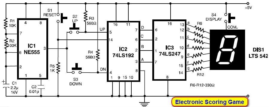 [SCHEMATICS_4FR]  OH_8379] Scoreboard Using Ic 4033 Counter Circuit Homemade Circuit Projects  Download Diagram | Scoreboard Wiring Diagrams |  | Mopar Aidew Illuminateatx Librar Wiring 101