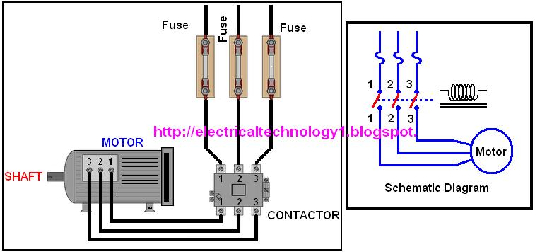 Pleasing Contactor Wiring Diagram Basic Electronics Wiring Diagram Wiring Cloud Hemtegremohammedshrineorg