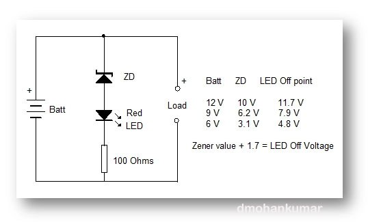 rx4398 how to design a battery charge indicator circuit