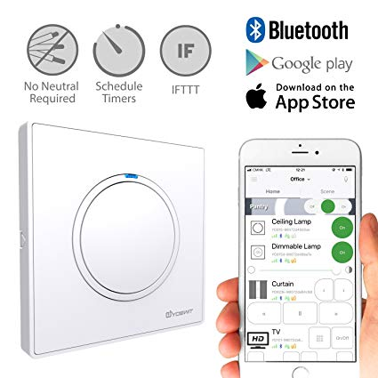 Groovy Yoswit Smart Light Switch 1 Gang No Neutral Wire Required Control Wiring Cloud Hisonepsysticxongrecoveryedborg