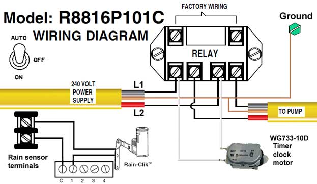 Intermatic T103 Wiring Diagram