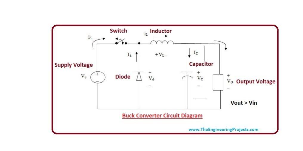 Wondrous Introduction To Buck Converter The Engineering Projects Wiring Cloud Gufailluminateatxorg