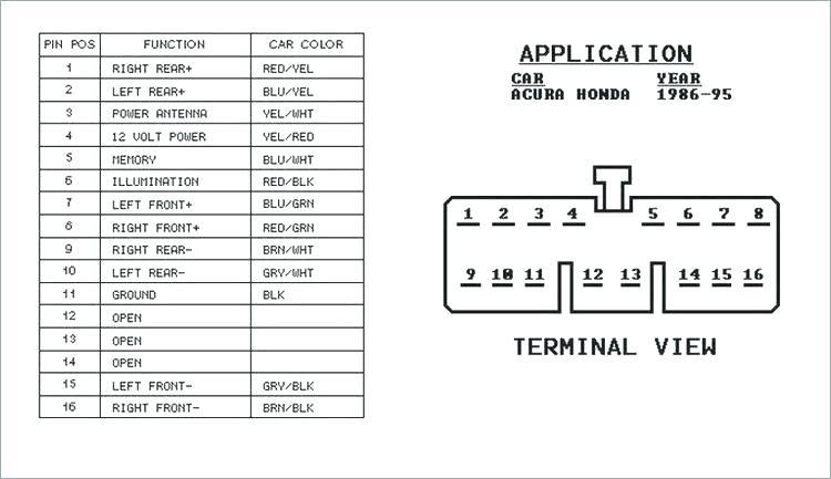 Honda Stereo Wiring Harness - 1999 Mitsubishi Eclipse Fuse Diagram for Wiring  Diagram Schematics