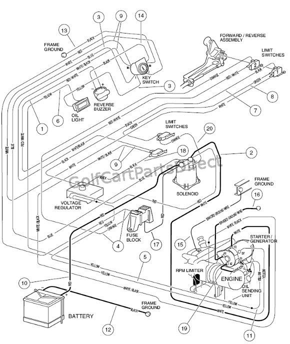 2000 club car wiring diagram gas  intellitouch wiring