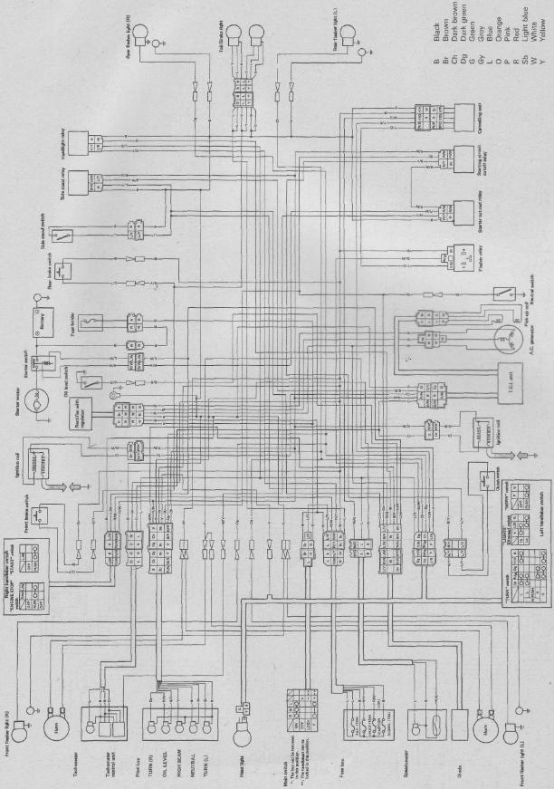 YG_0855] 1996 Virago 1100 Wiring Diagram Schematic Wiring